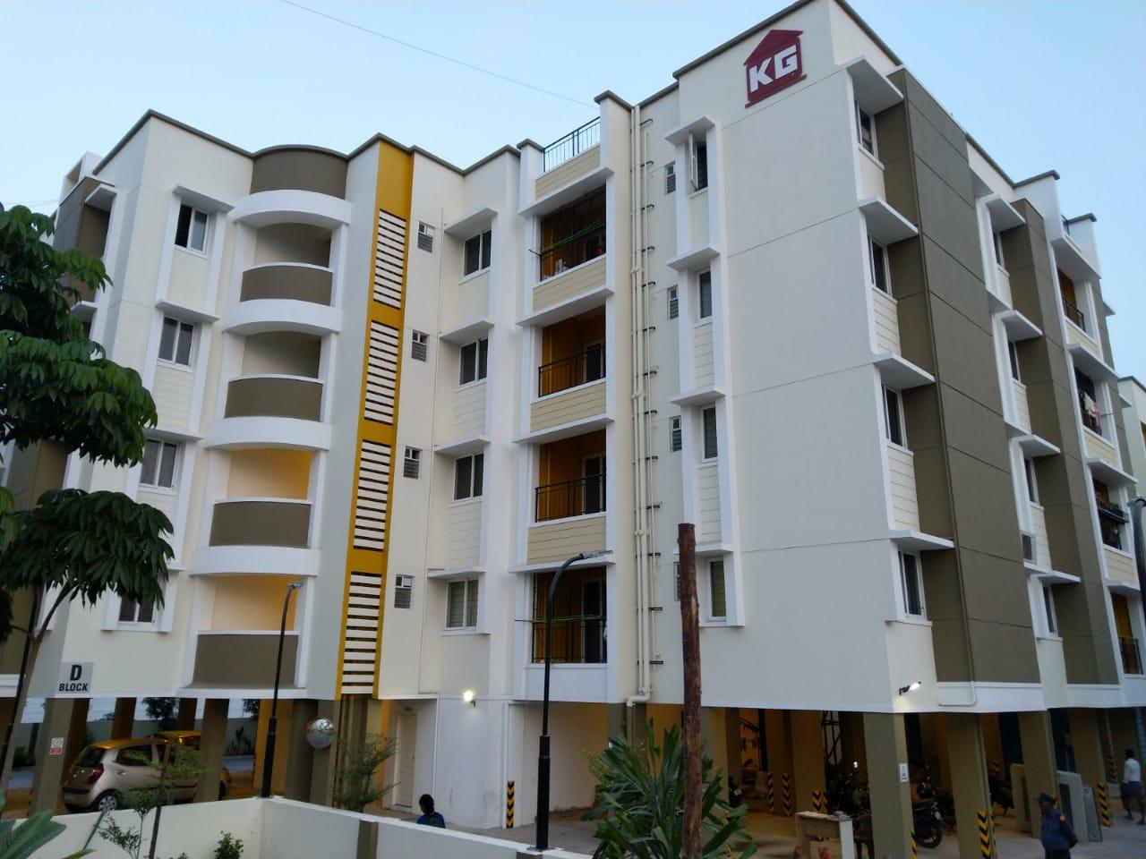 2 bhk apartments for sale in perumbakkam - KG Builders
